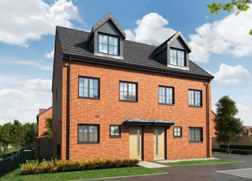 "Thumbnail 3 bed property for sale in ""The Kepwick At Lakeside At Bridgewater Gardens"" at The Barge, Castlefields Avenue East, Runcorn"