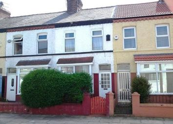 Thumbnail 3 bedroom terraced house to rent in Woodhey Road, Liverpool