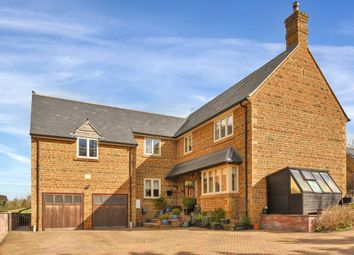 Thumbnail 4 bed detached house for sale in School Lane, Cottingham, Market Harborough