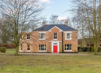 Thumbnail 4 bed detached house for sale in Manor Road, Cantley, Norwich