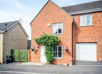 Thumbnail 3 bedroom end terrace house for sale in Sawyer Road, Swindon