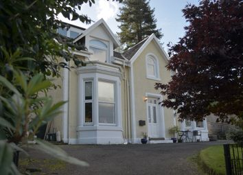Thumbnail 4 bed link-detached house for sale in Clynder, Helensburgh