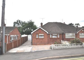 Thumbnail 2 bed semi-detached bungalow for sale in Parkstone Avenue, Newcastle, Staffs