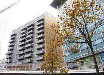 Thumbnail 1 bed flat to rent in The Bridge, 40 Dearmans Place, Salford
