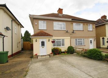 Thumbnail 3 bed semi-detached house for sale in Bradenham Road, North Hayes, Hayes