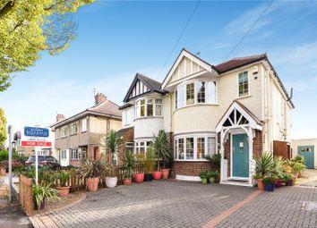 Thumbnail 3 bed detached house for sale in Burnham Avenue, Ickenham, Uxbridge, Middlesex
