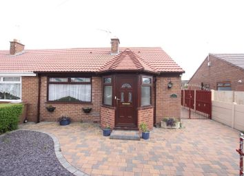 Thumbnail 2 bedroom semi-detached bungalow for sale in Ridgemere Road, Pensby, Wirral