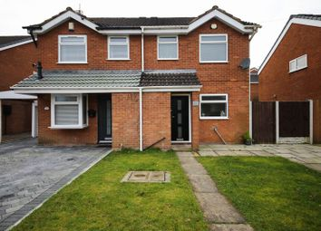 Thumbnail 3 bed semi-detached house for sale in Foxdene Grove, Winstanley, Wigan