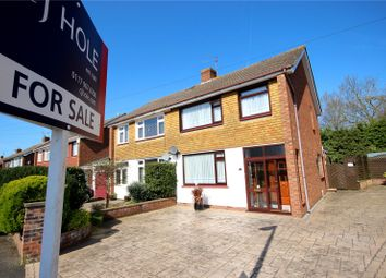 Thumbnail 4 bed semi-detached house for sale in Lydiard Croft, Hanham, Bristol