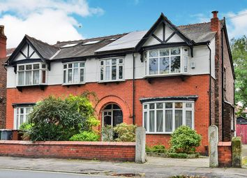 Thumbnail 4 bedroom semi-detached house for sale in Mauldeth Road West, Withington, Manchester, Greater Manchester