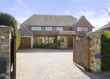 Thumbnail 5 bed detached house for sale in Charlwood Drive, Oxshott, Leatherhead, Surrey