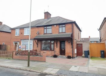 Thumbnail 3 bed semi-detached house for sale in Roseneath Avenue, Rushey Mead, Leicester