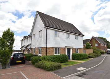 Thumbnail 3 bed semi-detached house for sale in Hardy Avenue, West Dartford, Kent