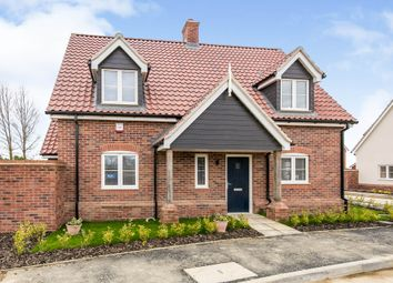Thumbnail 3 bed detached house for sale in Church Road, Otley, Ipswich