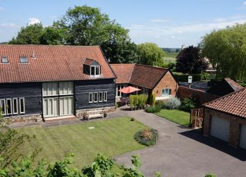 Thumbnail 5 bedroom barn conversion for sale in Brockley Road, Whepstead, Bury St. Edmunds