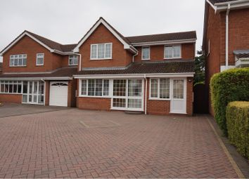 Thumbnail 5 bed detached house for sale in Nightingale Crescent, Willenhall