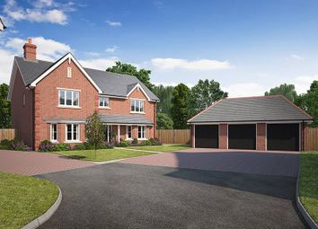"Thumbnail 5 bed detached house for sale in ""Beech House"" at Kendal End Road, Barnt Green, Birmingham"
