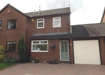 Thumbnail 3 bed semi-detached house for sale in Arley Close, Alsager, Stoke-On-Trent, Cheshire