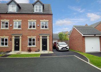 Thumbnail 3 bedroom town house for sale in Moniven Close, Warrington