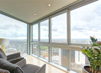 Thumbnail 2 bed flat for sale in The Tower, St George Wharf, London