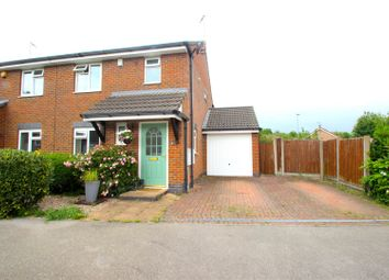 3 bed semi-detached house for sale in Harrison Close, Ratby, Leicester LE6