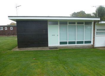 Thumbnail 2 bedroom semi-detached bungalow for sale in Broadside Chalet Park, Stalham, Norwich