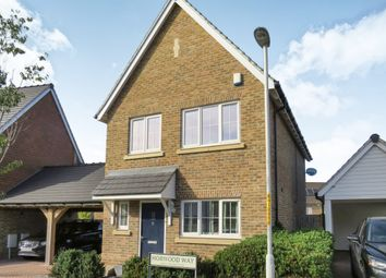 Thumbnail 3 bedroom detached house for sale in Horwood Way, Harrietsham, Maidstone