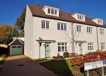 Thumbnail 4 bed end terrace house for sale in Lancaster Close, Hamstreet, Ashford