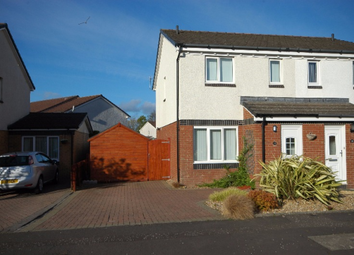 Thumbnail 2 bed semi-detached house to rent in Pentland Drive, Prestwick, South Ayrshire, 2Tu