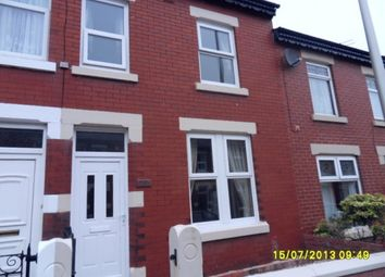 Thumbnail 2 bed terraced house to rent in Cunliffe Rd, Blackpool