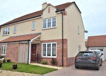 Thumbnail 3 bed semi-detached house for sale in Gerbera Way, Cullompton, Devon