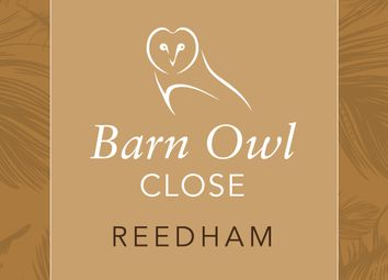 Thumbnail 2 bed semi-detached house for sale in Barn Owl Close, Reedham, Norwich