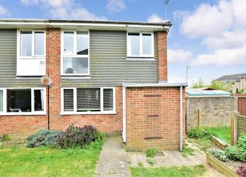 Thumbnail 3 bed end terrace house for sale in Downside Road, Whitfield, Dover, Kent