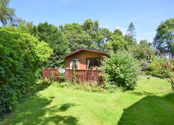 Thumbnail 2 bed mobile/park home for sale in The Orchard, Plas Dolguog, Machynlleth