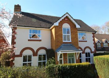 Thumbnail 4 bed detached house for sale in Silvester Way, Church Crookham, Fleet, Hampshire