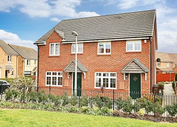 Thumbnail 3 bed semi-detached house for sale in Clipson Crest, Barton-Upon-Humber