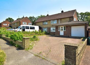 Thumbnail 4 bed semi-detached house for sale in Westmead Drive, Salfords, Surrey