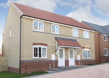 "Thumbnail 3 bed semi-detached house for sale in ""Finchley"" at Bay Court, Beverley"