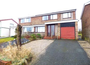 Thumbnail 4 bed semi-detached house for sale in Fairways Drive, Burnley, Lancashire