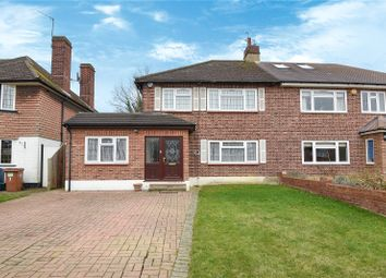 Thumbnail 3 bed semi-detached house for sale in Murray Crescent, Pinner