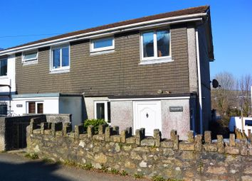 Thumbnail 3 bed semi-detached house to rent in Fore Street, St. Cleer, Liskeard