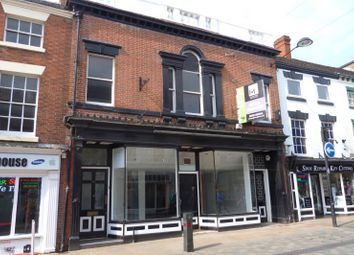 Thumbnail Retail premises for sale in 9 & 9A, High Street, Uttoxeter