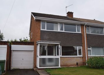 Thumbnail 3 bed semi-detached house to rent in Chetwynd Grove, Newport