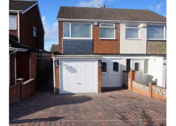 Thumbnail 3 bed semi-detached house for sale in Lea Green Avenue, Tipton