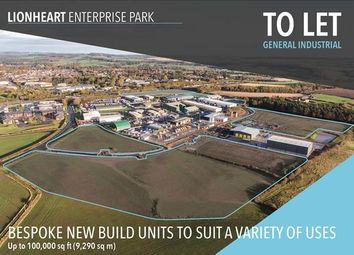 Thumbnail Light industrial to let in Lionheart Enterprise Park, Alnwick, Northumberland