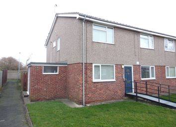 Thumbnail 2 bedroom flat for sale in Thropton Court, Blyth