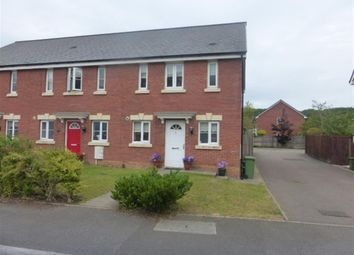 Thumbnail 3 bedroom end terrace house for sale in Clos Llewellyn, Taffs Well, Cardiff