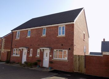 Thumbnail 3 bed semi-detached house for sale in Maes Meillion, Coity, Bridgend.