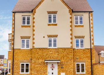 Thumbnail 4 bed semi-detached house for sale in Little Stanion, Corby