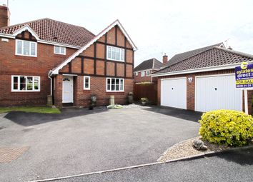 Thumbnail 4 bed detached house for sale in Hunt Avenue, Worcester